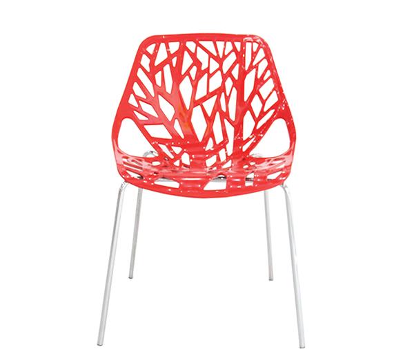 Καρέκλα Branch Κόκκινη – OEM – 1-BRANCH_kokkini