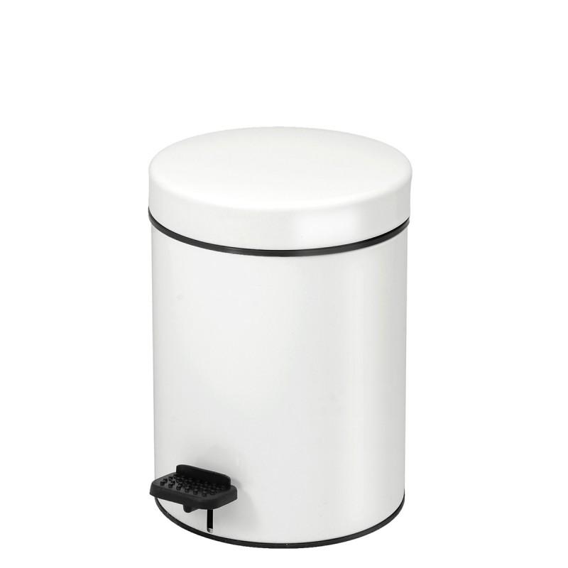 Καλάθι Απορριμμάτων White 3lt Pam & Co 18×25εκ. 03-606-003 (Χρώμα: Λευκό, Υλικό: Χάλυβας ) – Pam & Co – 03-606-003