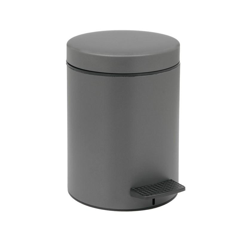Καλάθι Απορριμμάτων Matt Anthracite 5lt Pam & Co 20×28εκ. 05-096-113 (Χρώμα: Ανθρακί, Υλικό: Χάλυβας ) – Pam & Co – 05-096-113