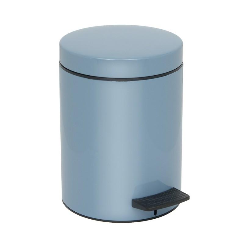 Καλάθι Απορριμμάτων Glossy Ciel 5lt Pam & Co 20×28εκ. 05-096-923 (Χρώμα: Γαλάζιο , Υλικό: Χάλυβας ) – Pam & Co – 05-096-923