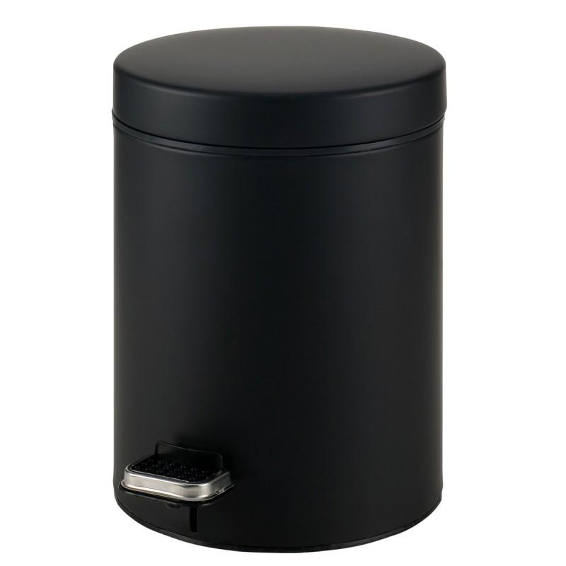 Κάδος Απορριμμάτων Matte Black 8lt Pam & Co 23×32εκ. 08-500-403 (Χρώμα: Μαύρο, Υλικό: Χάλυβας ) – Pam & Co – 08-500-403