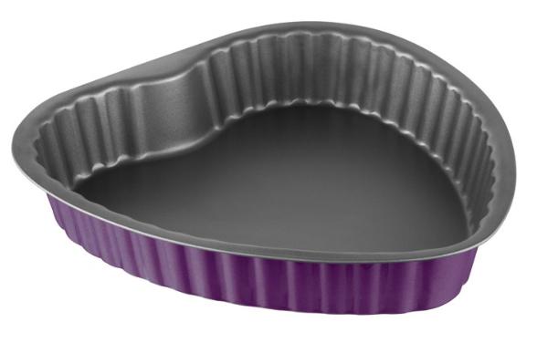 Φόρμα Καρδιά Αντικολλητική Χάλυβα 25×5εκ. Colors PAL 050.000148-Purple (Υλικό: Χάλυβας ) – PAL – 050.000148-purple