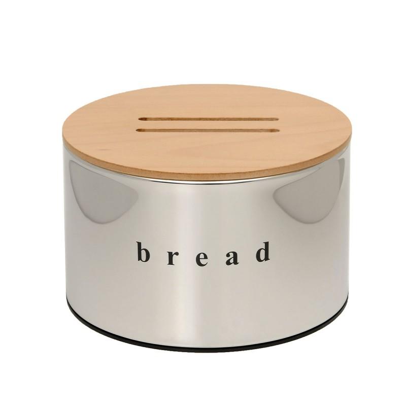 Ψωμιέρα Brilliant Inox 25×18εκ. Pam & Co 09-2518-001 (Υλικό: Ανοξείδωτο) – Pam & Co – 09-2518-001
