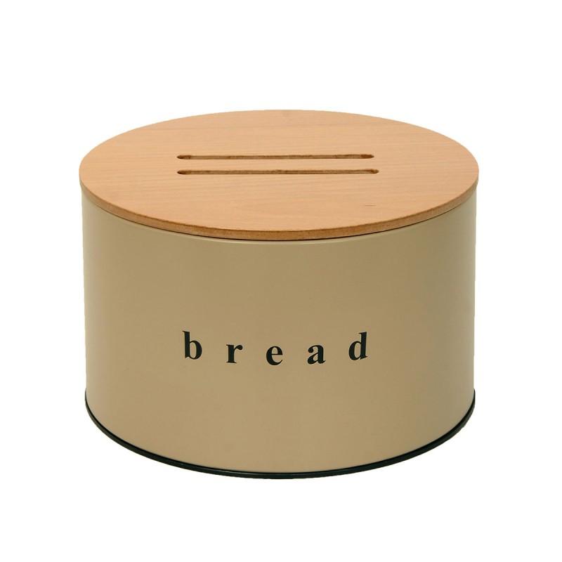 Ψωμιέρα Matte Beige 25×18εκ. Pam & Co 09-2518-103 (Χρώμα: Μπεζ, Υλικό: Χάλυβας ) – Pam & Co – 09-2518-103