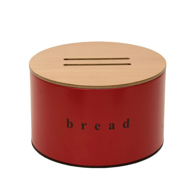 Ψωμιέρα Matte Red 25×18εκ. Pam & Co 09-2518-503 (Χρώμα: Κόκκινο, Υλικό: Χάλυβας ) – Pam & Co – 09-2518-503