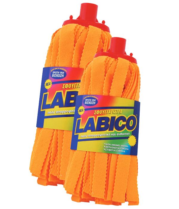 Σφουγγαρίστρα non woven πορτοκαλί γίγας Labico – LABICO – RS_00.01.75.58ΒΠΣ