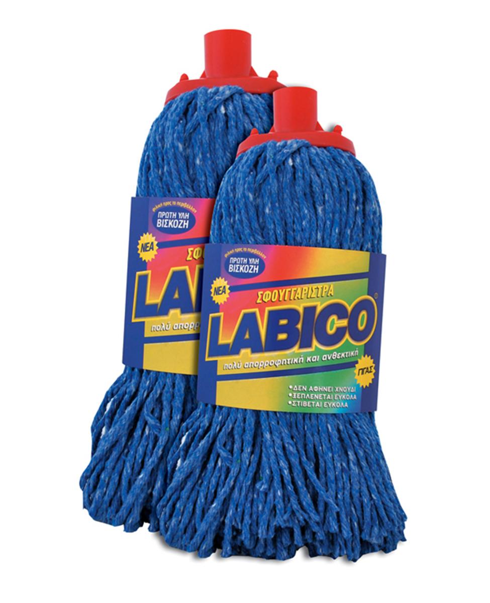 Σφουγγαρίστρα LABICO νημάτινη μπλέ γίγας – LABICO – RS_00.82.25.ΜΠΣΥ/4