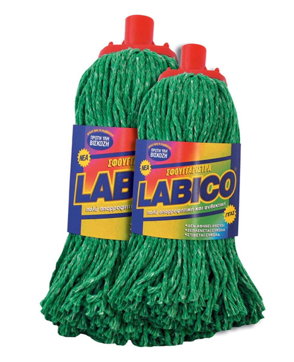 Σφουγγαρίστρα LABICO νημάτινη πράσινη γίγας – LABICO – RS_00.82.25.ΠΡΣΥ