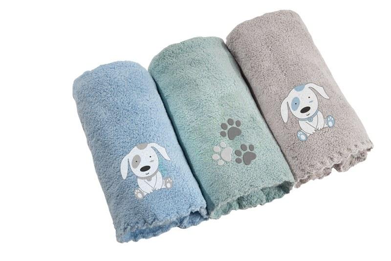 Σετ Πετσέτες 3τμχ Bebe 35×50εκ. Microfiber Baby Dog Guy Laroche (Ύφασμα: Microfiber) – Guy Laroche – 1122086121001