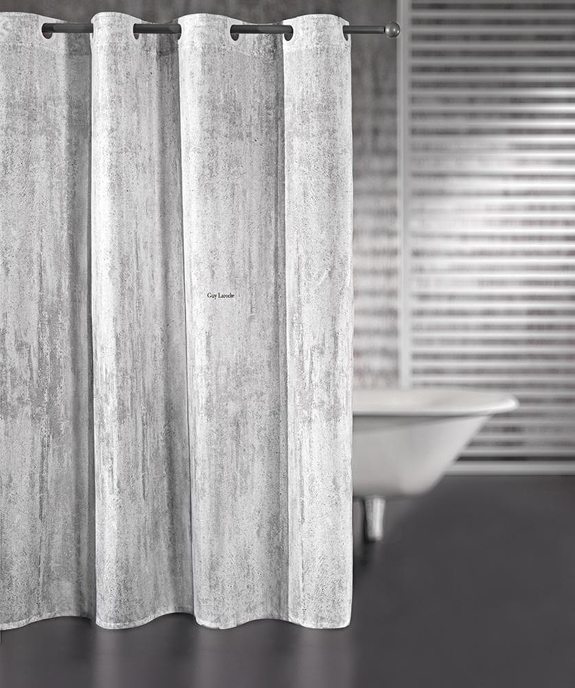 Κουρτίνα Μπάνιου 180×190εκ. Polyester Wall Cement Guy Laroche (Ύφασμα: Polyester) – Guy Laroche – 1128030216003