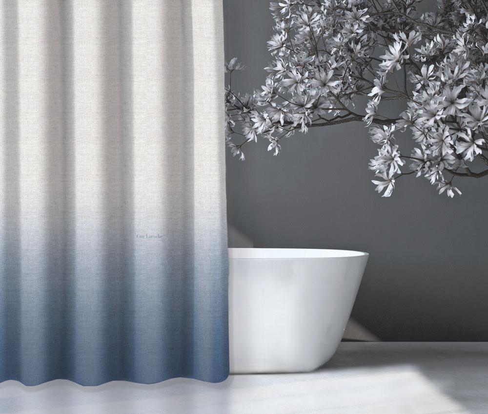 Κουρτίνα Μπάνιου 180×190εκ. Polyester Mykonos Light Blue Guy Laroche (Ύφασμα: Polyester, Χρώμα: Μπλε) – Guy Laroche – 1128030217007