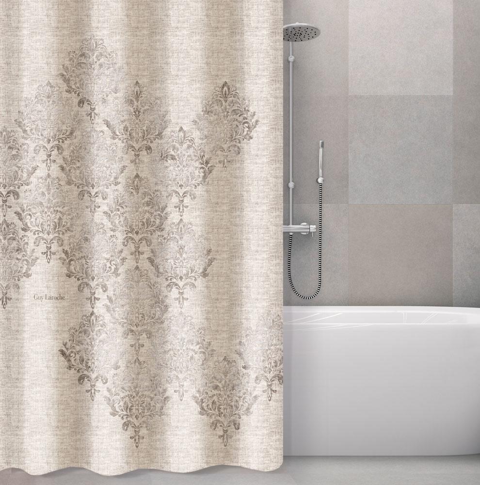 Κουρτίνα Μπάνιου Polyester Αδιάβροχη 180×190εκ. Style Natural Guy Laroche (Ύφασμα: Polyester) – Guy Laroche – 1128030218005