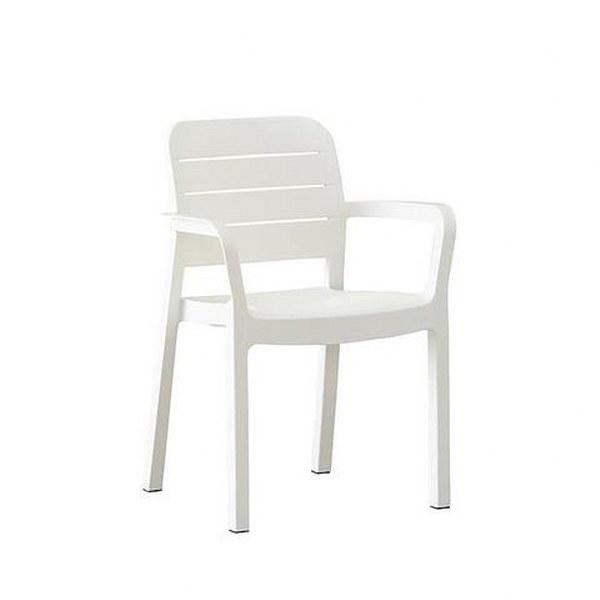 Πολυθρόνα Εξωτερικού Χώρου Tisara White – Allibert – tisara-armchair-white