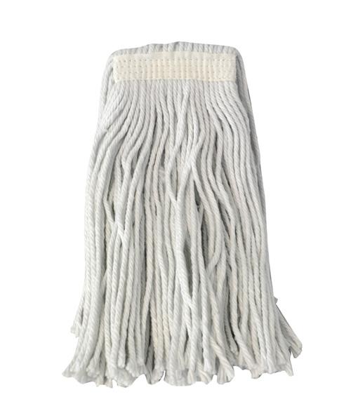 Σφουγγαρίστρα επαγγελματική νημάτινη λευκή 400gr – OEM – RS_0052699συσκ