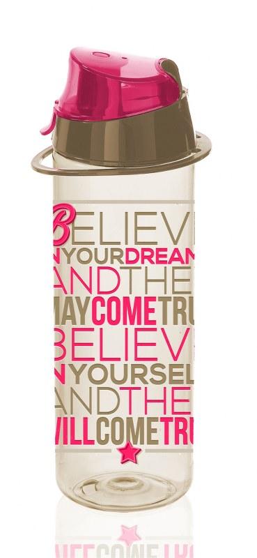 Μπουκάλι Νερού Πλαστικό 750cc Believe – VELTIHOME – 21-16150-believe