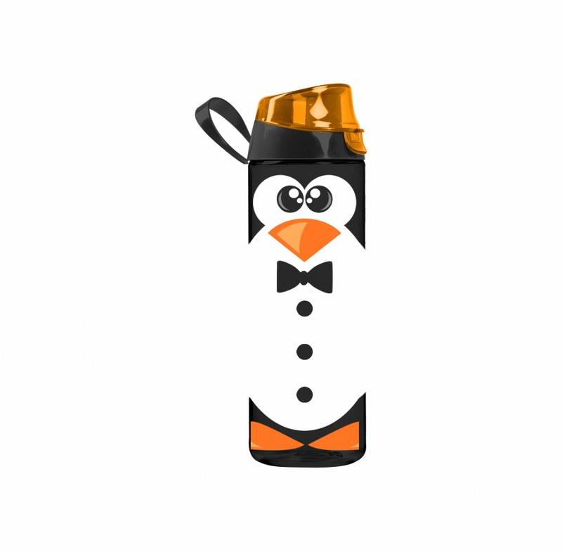 Μπουκάλι Νερού Πλαστικό 750cc Penguin – VELTIHOME – 21-16150-penguin