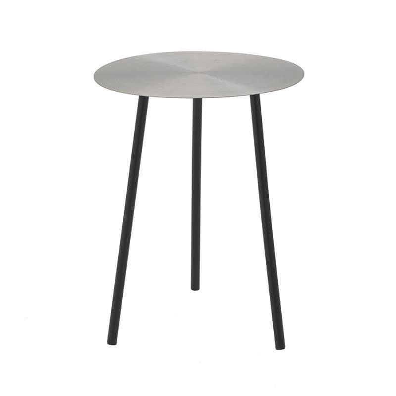 Τραπέζι Μεταλλικό inart 40×52εκ. 3-50-650-0012 (Υλικό: Μεταλλικό, Χρώμα: Μαύρο) – inart – 3-50-650-0012