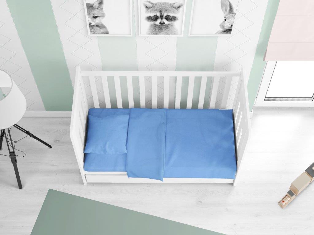 Πάπλωμα Βαμβακερό Κούνιας 120×160εκ. Solid 498 Sky Blue DIMcol (Ύφασμα: Βαμβάκι 100%, Χρώμα: Γαλάζιο ) – DimCol – 1911517606249882