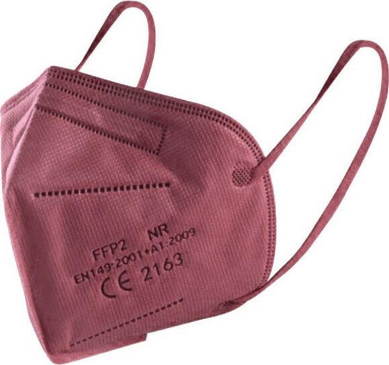 Μάσκα Προστασίας Ενηλίκων Σετ 10τμχ Famex Protective NR FFP2 Μπορντώ (Χρώμα: Μπορντώ ) – OEM – ffp2-adult-bordo