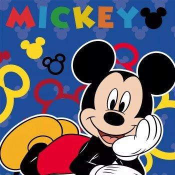Λαβέτα 30×30εκ. Digital Print Mickey 51 Disney Dimcol (Ύφασμα: Βαμβάκι 100%) – Disney – 2120512401005199