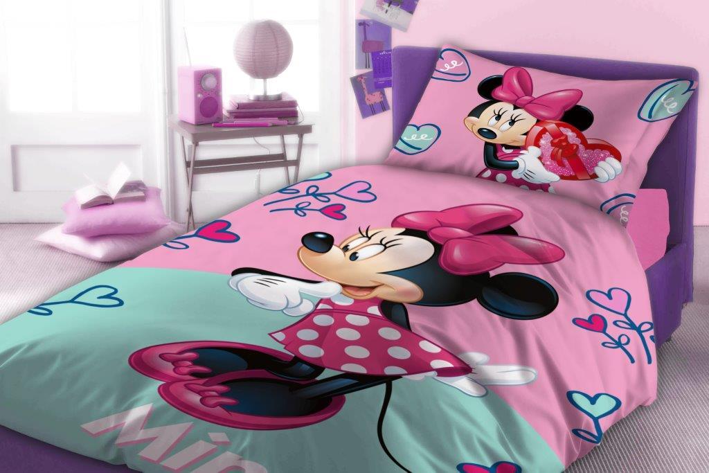 Πάπλωμα Βαμβακερό Μονό 160×240εκ. Minnie 751 Digital Print Disney Dimcol (Ύφασμα: Βαμβάκι 100%) – Disney – 2121515201175199