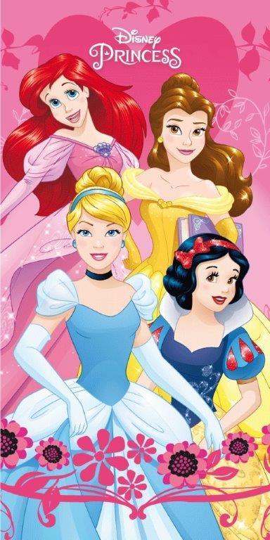 Πετσέτα Θαλάσσης Βαμβακερή 70×140εκ. Princess 03 Digital Print Disney Dimcol (Ύφασμα: Βαμβάκι 100%) – Disney – 2123713501500399