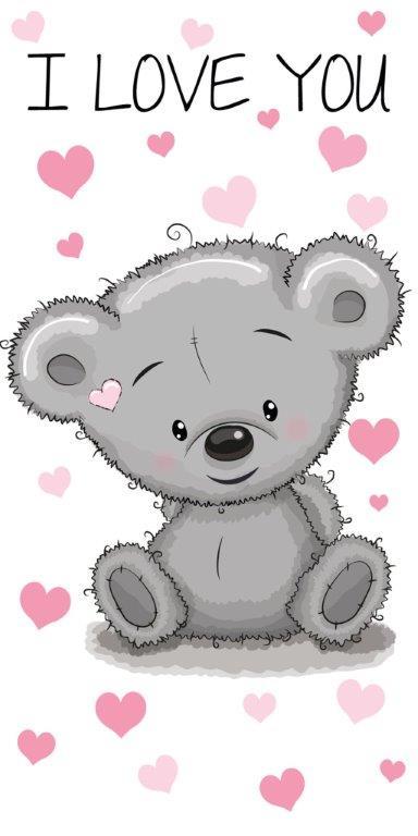 Πετσέτα Θαλάσσης Βαμβακερή 70×140εκ. Teddy Bear 19 Digital Print Disney Dimcol (Ύφασμα: Βαμβάκι 100%) – Disney – 2123713503301999