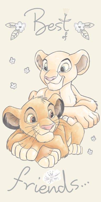 Πετσέτα Θαλάσσης Βαμβακερή 70×140εκ. Lion King 17 Digital Print Disney Dimcol (Ύφασμα: Βαμβάκι 100%) – Disney – 2123713516401799