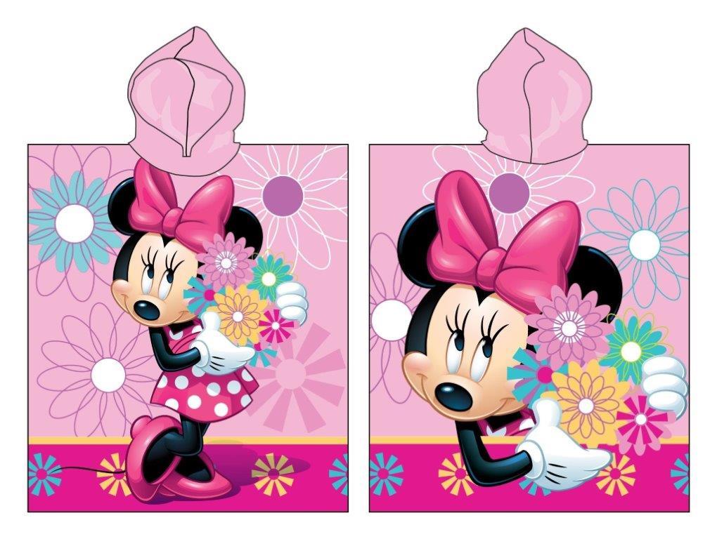 Πόντσο Παιδικό Βαμβακερό 50×115εκ. Minnie 09 Digital Print Disney Dimcol (Ύφασμα: Βαμβάκι 100%) – Disney – 2123816501100999