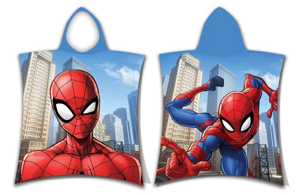 Πόντσο Παιδικό Βαμβακερό 50×115εκ. Spiderman 10 Digital Print Disney Dimcol (Ύφασμα: Βαμβάκι 100%) – Disney – 2123816505201099