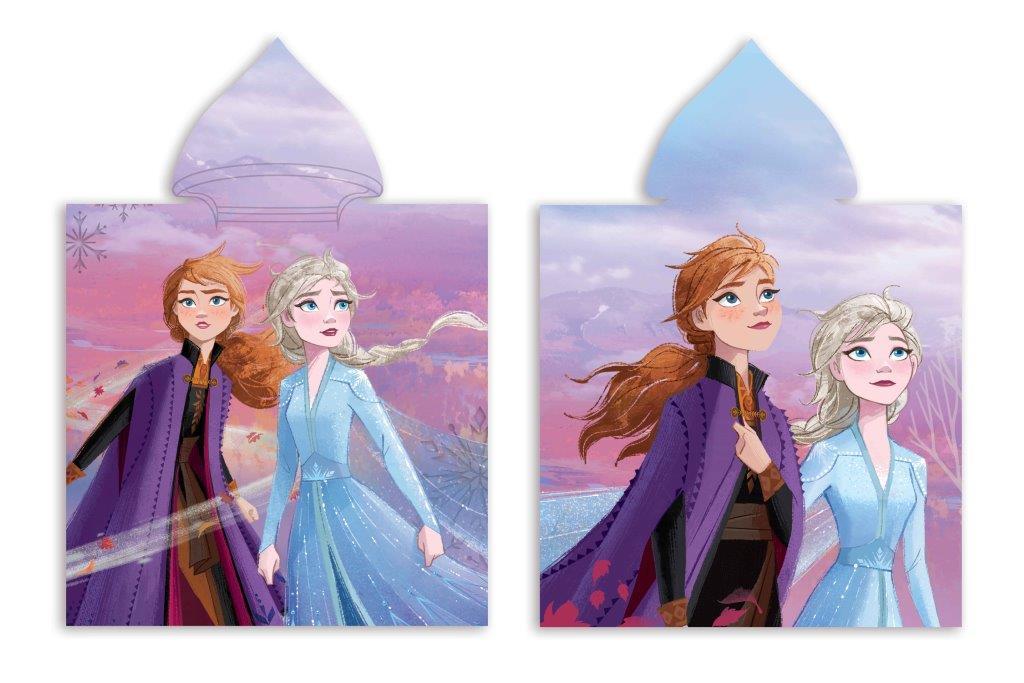 Πόντσο Παιδικό Microfiber 50×100εκ. Frozen 20 Digital Print Disney Dimcol (Ύφασμα: Microfiber) – Disney – 2123833000602099