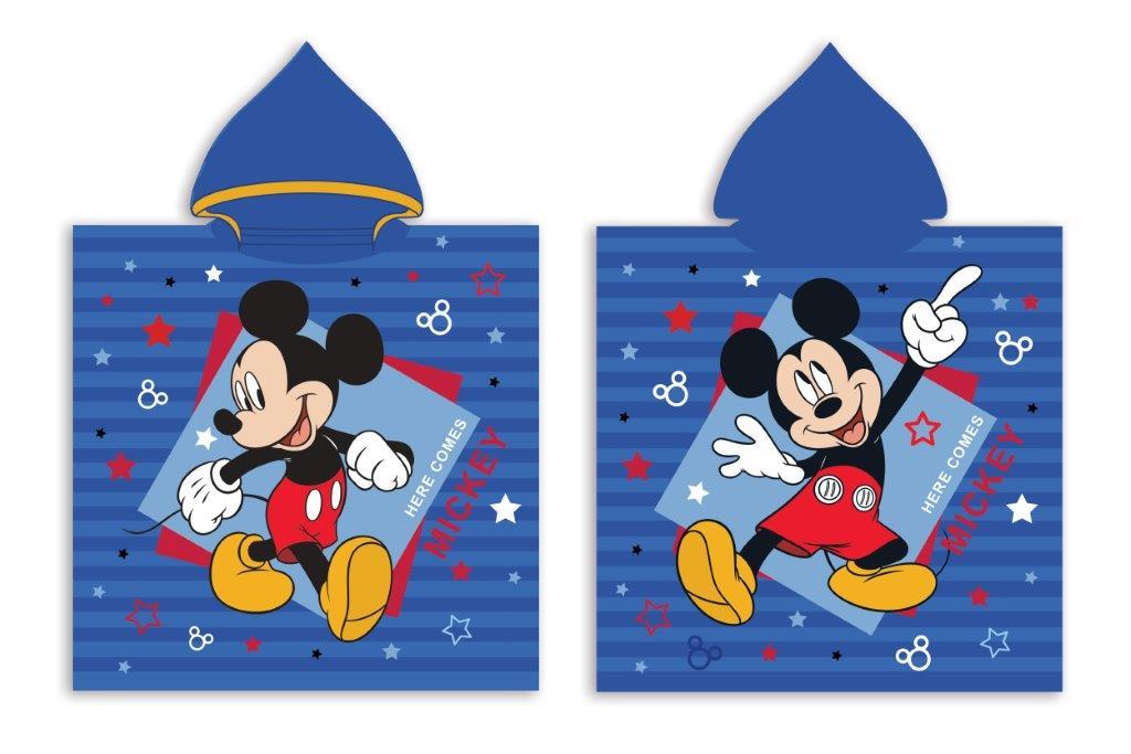 Πόντσο Παιδικό Microfiber 50×100εκ. Mickey 37 Digital Print Disney Dimcol (Ύφασμα: Microfiber) – Disney – 2123833001003799