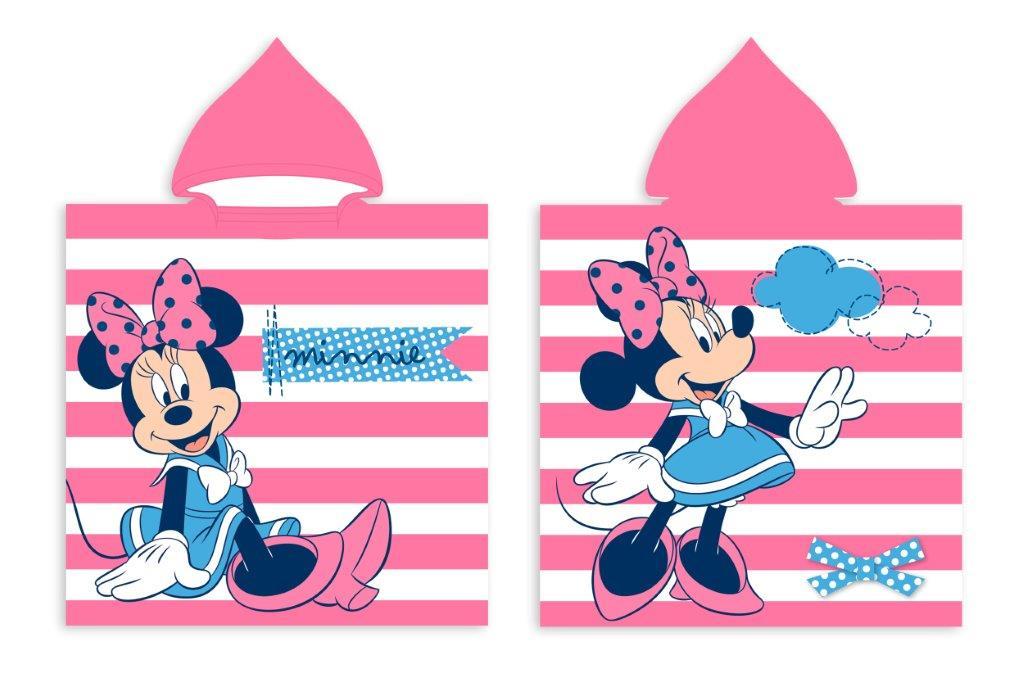 Πόντσο Παιδικό Microfiber 50×100εκ. Minnie 43 Digital Print Disney Dimcol (Ύφασμα: Microfiber) – Disney – 2123833001104399