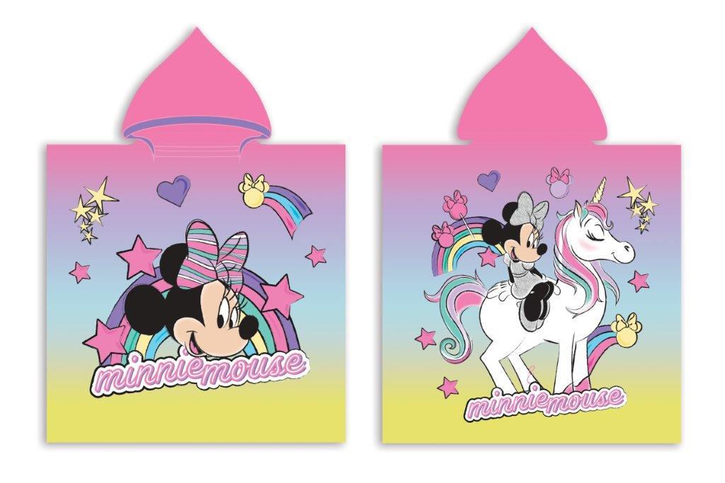 Πόντσο Παιδικό Microfiber 50×100εκ. Minnie 46 Digital Print Disney Dimcol (Ύφασμα: Microfiber) – Disney – 2123833001104699