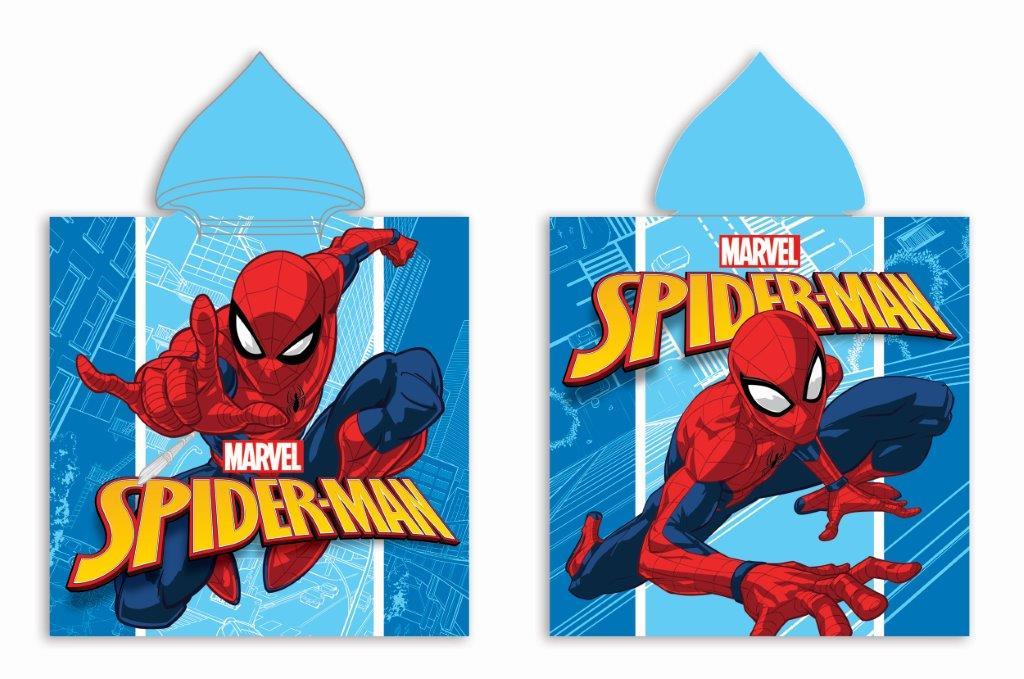 Πόντσο Παιδικό Microfiber 50×100εκ. Spiderman 29 Digital Print Disney Dimcol (Ύφασμα: Microfiber) – Disney – 2123833005202999