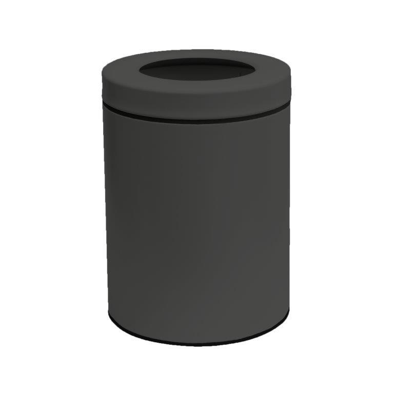 Κάδος Απορριμάτων 5lit Inox 21×28εκ. Pam & Co 2128-113 (Υλικό: Inox, Χρώμα: Ανθρακί) – Pam & Co – 2128-113