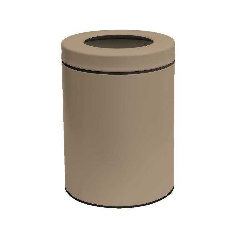 Κάδος Απορριμάτων 8lit Inox 23×32εκ. Pam & Co 2332-103 (Χρώμα: Μπεζ, Υλικό: Inox) – Pam & Co – 2332-103