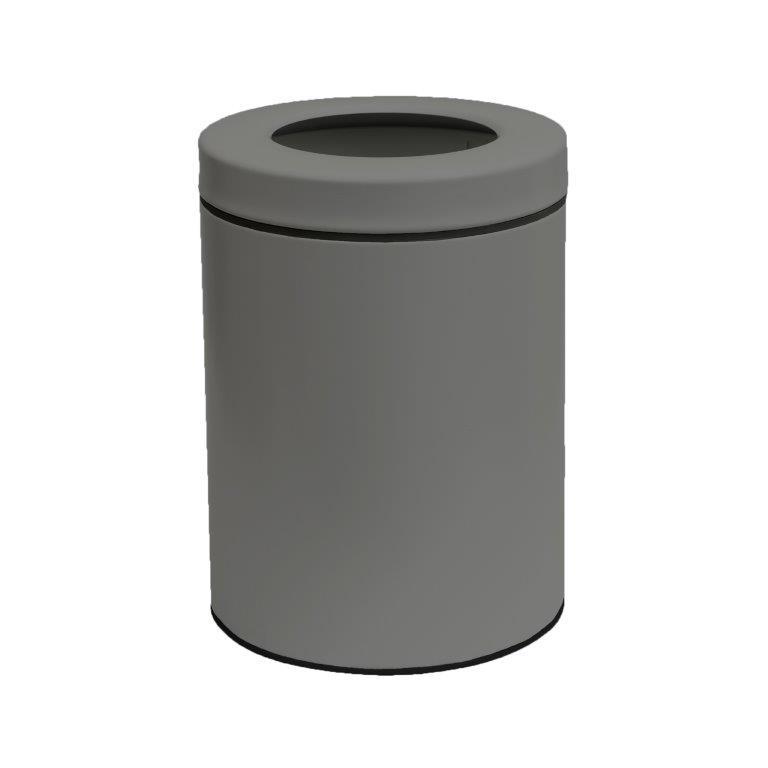 Κάδος Απορριμάτων 8lit Inox 23×32εκ. Pam & Co 2332-163 (Χρώμα: Γκρι, Υλικό: Inox) – Pam & Co – 2332-163
