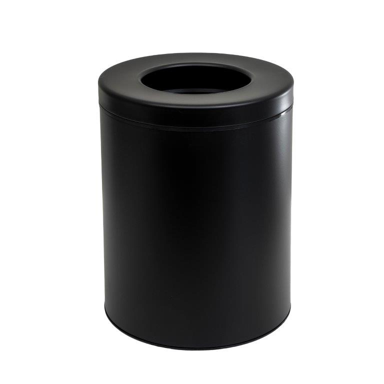 Κάδος Απορριμάτων 8lit Inox 23×32εκ. Pam & Co 2332-403 (Χρώμα: Μαύρο, Υλικό: Inox) – Pam & Co – 2332-403