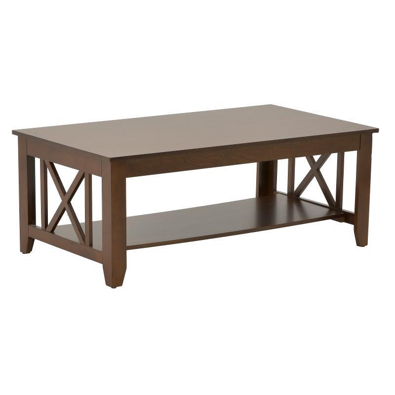 Τραπέζι Σαλονιού Ξύλινο Καρυδί inart 122x66x46εκ. 3-50-767-0001 (Υλικό: Ξύλο, Χρώμα: Καρυδί) – inart – 3-50-767-0001