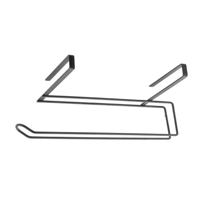 Θήκη Για Χαρτί Κουζίνας Μαύρη Easy Roll Lava Touch 35x18x10εκ. Metaltex 16-361135 (Χρώμα: Μαύρο) – METALTEX – 16-361135