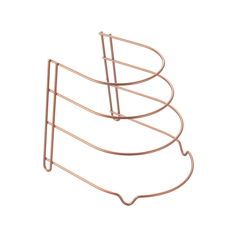 Θήκη Για Τηγάνια Ροζ-Χρυσό Canyon Polytherm Copper 23x27x23εκ. Metaltex 16-362204 – METALTEX – 16-362204