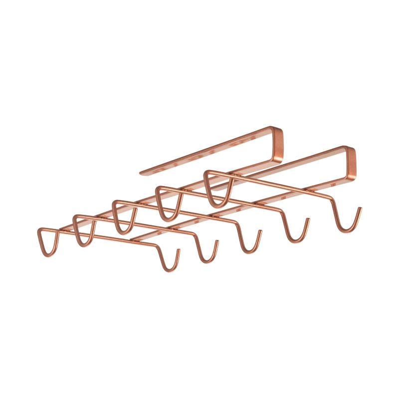 Θήκη 10 Θέσεων Για Κούπες Ροζ-Χρυσό My Mug Polytherm Copper 14x28x6εκ. Metaltex 16-363628 – METALTEX – 16-363628