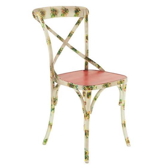 Καρέκλα Μεταλλική inart Κόκκινη – inart – 3-50-410-0002