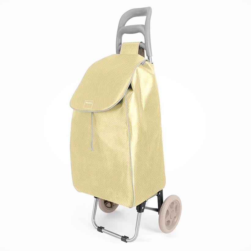 Καρότσι Αγοράς Πτυσσόμενο Metaltex Aster Χρυσό (Χρώμα: Χρυσό ) – METALTEX – 415224-gold