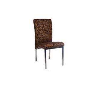 Καρέκλα νίκελ καφέ – OEM – 1-4163_kafe