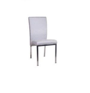 Καρέκλα νίκελ λευκή – OEM – 1-4163_leuko