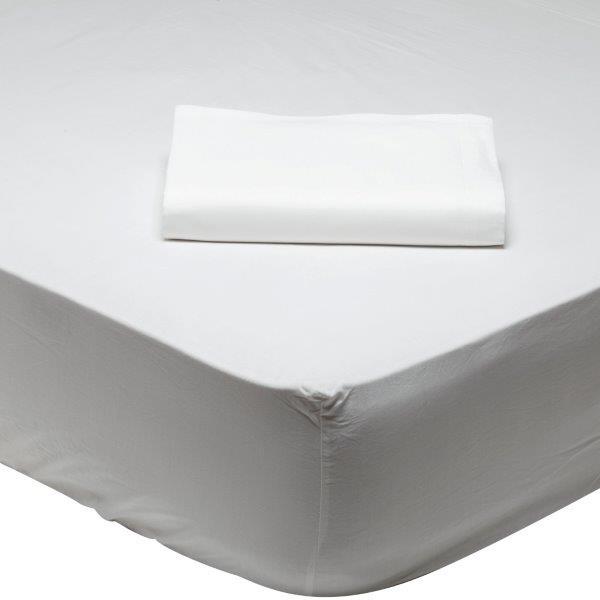 Σεντόνι Μεμονωμένο Υπέρδιπλο Λευκό Das Home Best Line Colours 1001 - Das Home -  λευκα ειδη υπνοδωμάτιο σεντόνια διπλά   υπέρδιπλα