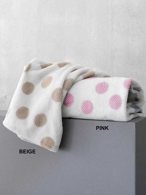 Κουβέρτα Ημίδιπλη Palamaiki Dots Pink – Palamaiki – dots-bl1-pink