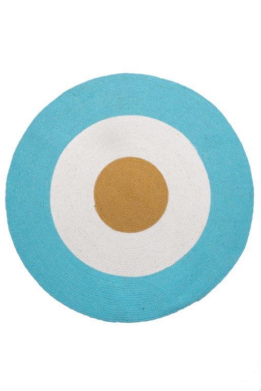 Χαλάκι Bαμβακερό 140εκ. Tricolore Aqua Palamaiki (Ύφασμα: Βαμβάκι 100%) – Palamaiki – 5205857225643